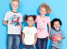 From 20% Off  -  On Kid's Character Clothing (until 20th Feb) @ Tesco