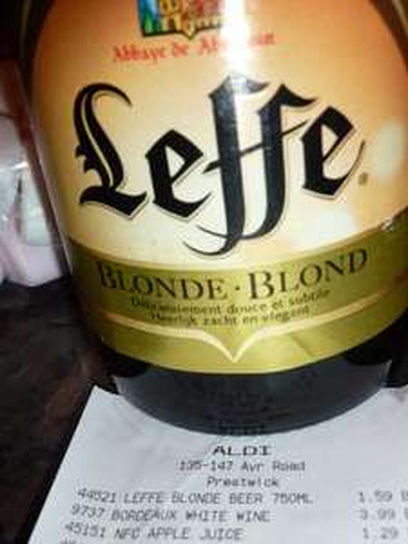 Leffe 750 ml Bottle £1.59 @ Aldi