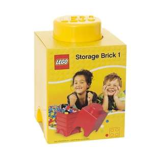 Lego Storage Brick 1 yellow £4.99 play.com