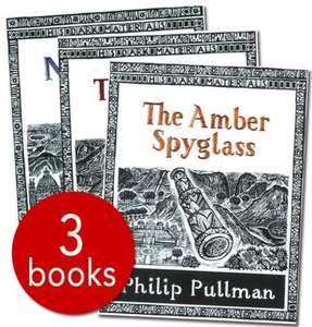 His Dark Materials Trilogy Collectors Edition Set - 3 Books - Philip Pullman (Northern Lights/The Subtle Knife/The Amber Spyglass) £7.20  (RRP £32.97) delivered @ Red House