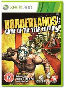 Borderlands Game of the Year Edition - Xbox 360 - £10 Play.com