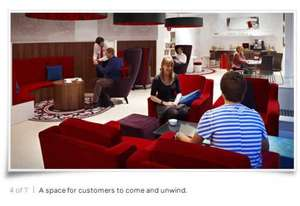 Free Access to Virgin Money Lounge (free tea, coffee, etc) for Northern Rock customers
