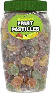 Fruit Pastilles 800g Tub down to £1.50 in-store @ Tesco