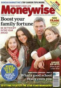 Free copy of Moneywise magazine (worth £3.95)