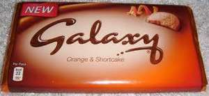 Galaxy Orange & Shortcake 120g, 3 for £1 @ PoundEmpire Xtra Liverpool