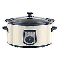 Breville 6 litre Cream Slow Cooker £19.99 at Sainsburys (was £49.99)
