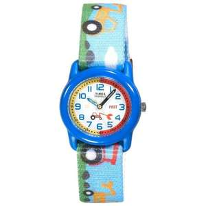 Timex Kids - Analogue Time Teacher Blue Tractor Watch WAS £19.99 NOW £8.94 AMAZON!