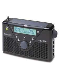 Roberts Solar DAB/FM RDS Digital Solar Powered Radio £44.99 @ Argos