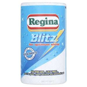 Regina Blitz Kitchen Towel Half Price £1.24 at Tesco Online & Instore