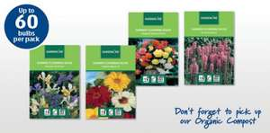Summer Flowering Bulbs £1. 29  per pack @ Aldi's from 23rd Feb