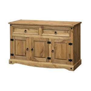 Corona Solid Mexican Waxed Pine Sideboard £119 plus £15 delivery www.house2ahome.co.uk