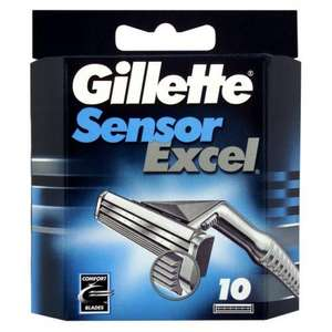 Gillette Sensor Excel Blades 10 Pack - Was £10.50 Now £5.25 @ Asda In-Store