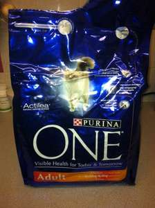 Purina One 3KG Chicken Flavour Cat Food £7.14 Instore at Asda
