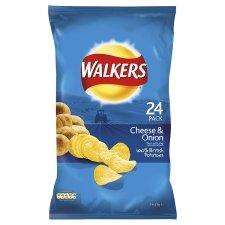 Pack of 22 Walkers Cheese & onion Crisps Only £2 @ Morrisons