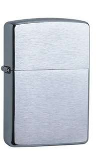 Zippo Brushed Chrome Lighter Z200 Only £8.49 Delivered @ Amazon