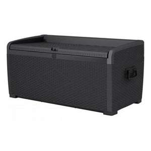 XL Rattan Style Storage Box Black for £99.90 with Free next day delivery @ Garden Buildings Direct