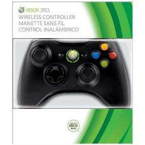 Xbox 360 Wireless Controller Black - £17.99 - Play.com