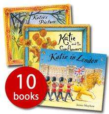 The Katie Collection by James Mayhew - 10 books for £9.99 RRP £59.90 @ The Book People