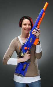Co-op Nuneaton, Nerf Longstrike reduced to £25. In store only.