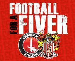 Football for a fiver - Charlton Athletic Vs Stevenage