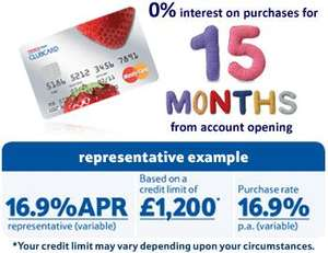 Tesco Credit Card 15 months intrest free on purchases + 0% balance + clubcard points