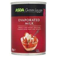Evaporated milk reduced to 30p per tin at Asda & Tesco