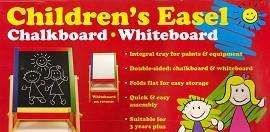 Children's Easel Chalkboard/Whiteboard for £6.99 instore or £9.63 Delivered @ The Works