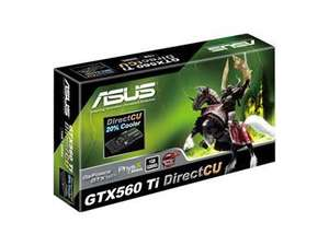 Asus GeForce GTX 560 Ti 822MHz 1GB GDDR5 PCI-Express HDMI Nvidia @ Dabs £149.98 or less with voucher. Inc Free Game + Free Delivery.