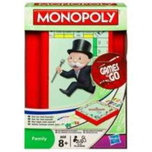 70% off  Hasbro travel games, Monopoly,Battleship,Cludeo and Guess Who £1.79 @ Sainsburys