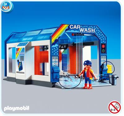 Playmobil Car Wash Toy For Children 163 26 Hotukdeals