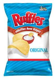 Ruffles Crisps introductory offer, 150g bags only £1 @ Asda (In-store only)