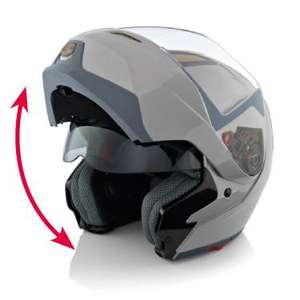 Flip-up Helmet £39.99 @ Lidl