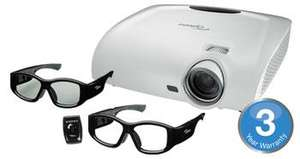 Optoma HD33 Full HD 3D Projector + 2 x RF Glasses + Mount £1299.99@leconcepts