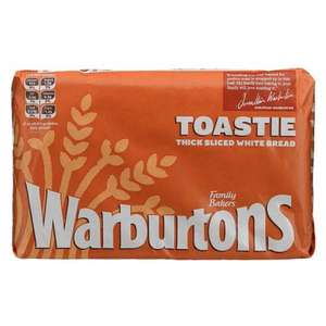 Warburtons Bread for £1 at Aldi (also cheap Cheese, Milk & Butter)