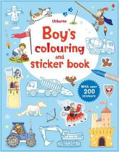 Boys Colouring and Sticker Book only £1.99 @ ChoicesUK (min spend £2.50)