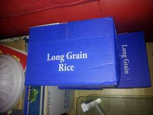 Long Grain rice (1kg) 40p at LIDL,TESCO,ASDA,ALDI