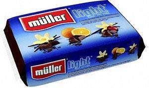 Muller Light Fat Free Assorted Yogurts (6x165g) @ ASDA - £1.50