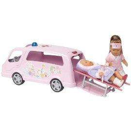 Zapf Creation My Mini BABY Born Ambulance Car - £8.48 delivered @ Mail Order Express