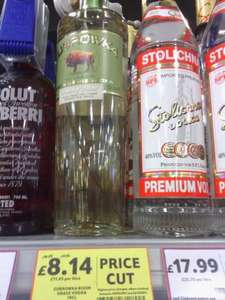 Zubrowka Bison Vodka 70cl £8.14 (was £16.29)instore at Tesco