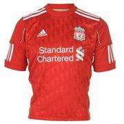One Day Only - 90% Off Men's & Juniors Liverpool Home & Away Shirts @Sports Direct