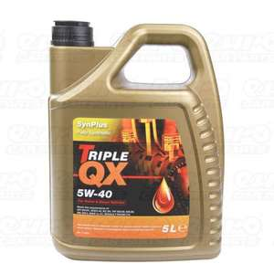 Vw tdi Pd engine specific oil at £17.10 Delivered Triple QX 5w40 Fully Synthetic Engine Oil . Ebay/carpartssaver
