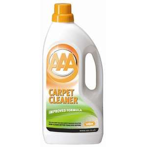 Vax AAA carpet shampoo - £4.09 at wilkinsons