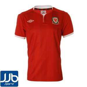 Official Wales 2011/2012 Football Shirt £9.99. Great as its Gary Speeds Tribute Game on 29th @ JJB ebay outlet FREE DELIVERY