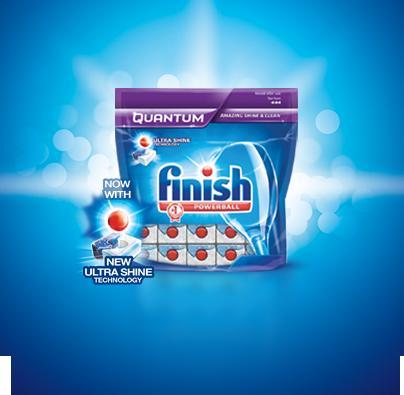 Free 10 Pack of Finish Quantum & Voucher