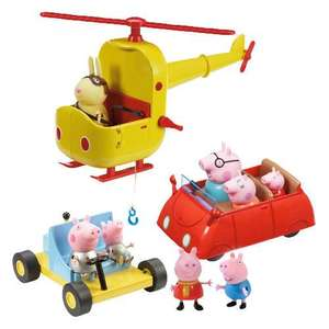 Peppa Pig Exclusive Multi Vehicle Set , £10 @ Tesco Arena Coventry