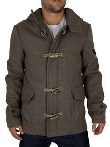 Firetrap Fossil Marl Knot Melton Duffle Jacket was £164 now £83.00 @ Stand-Out