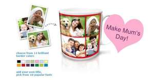 'Free' £8 personalised mug (£1.99 p&p) @ truprint