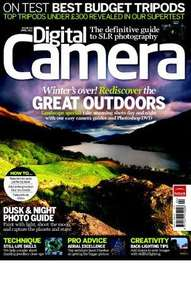 50% off a 1 year subscription to Digital Camera Magazine @ Tech Radar Deals - £32.39