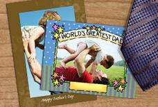 Personalised Card worth £1.70 for 60p p&p @ Bonus Print