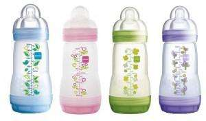 Free MAM Anti Colic Bottle